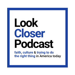 Look Closer Logo with Tagline